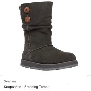 "Skechers ""Keepsakes Freezing Temps"" Boots"